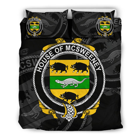 Ireland Bedding Set - Mcsweeney | Over 1400 Irish Surnames | Special Custom Design