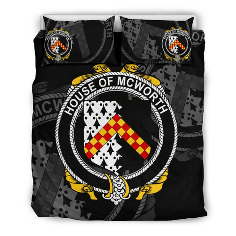 Image of Ireland Bedding Set - Mcworth Or Macworth | Over 1400 Irish Surnames | Special Custom Design
