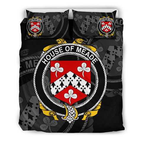 Image of Ireland Bedding Set - Meade | Over 1400 Irish Surnames | Special Custom Design