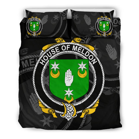 Image of Ireland Bedding Set - Meldon Or Muldoon | Over 1400 Irish Surnames | Special Custom Design
