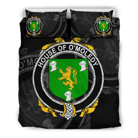 Image of Ireland Bedding Set - Melody Or O'Moledy | Over 1400 Irish Surnames | Special Custom Design
