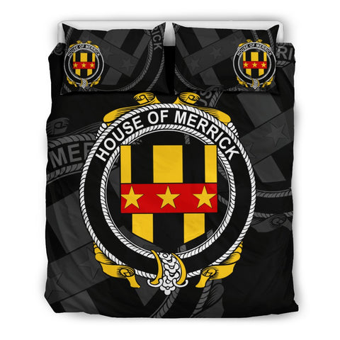 Ireland Bedding Set - Merrick Or Meyrick | Over 1400 Irish Surnames | Special Custom Design