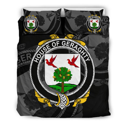 Image of Ireland Bedding Set - Geraghty Or Mcgarrity | Over 1400 Irish Surnames | Special Custom Design