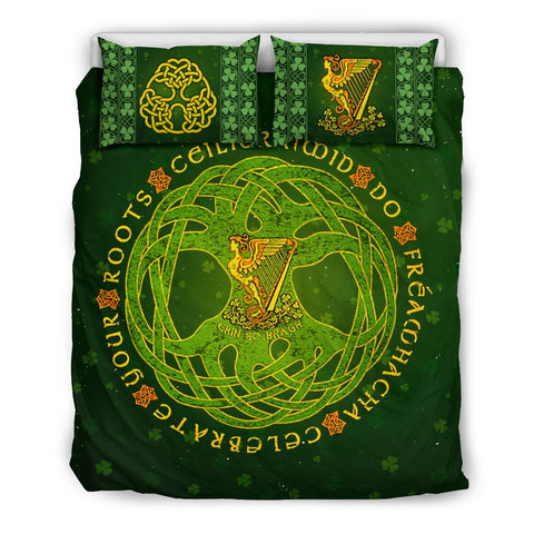 Harp Shamrock Bedding Set
