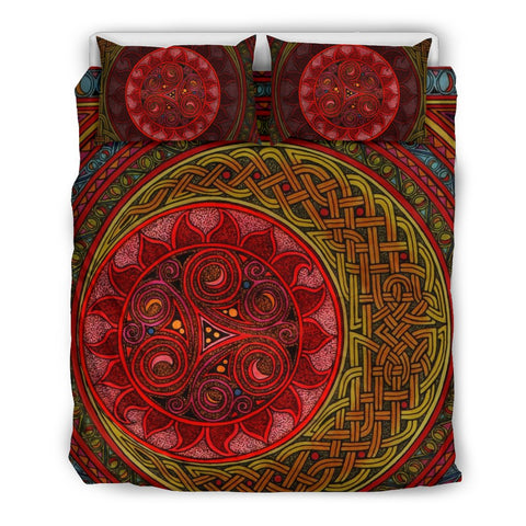 Image of Celtic Bedding Set - Celtic Sun And Moon | Special Custom Design