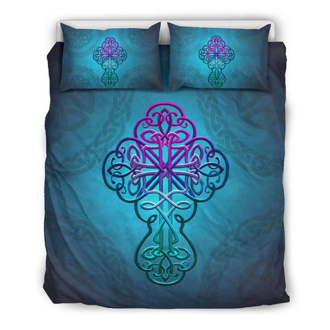 Celtic Bedding Set - Celtic Cross Christian | HOT Sale