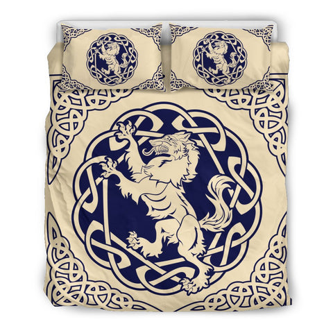 Image of Celtic Wolf Bedding Set, Duvet Cover