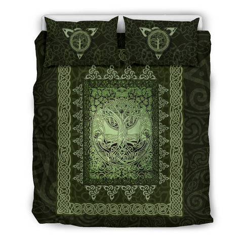 Vintage Irish Celtic Tree Of Life Bedding Set K5