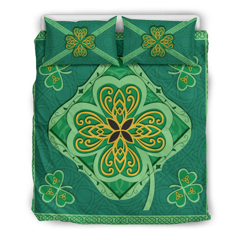 Irish Shamrock Bedding Set 1