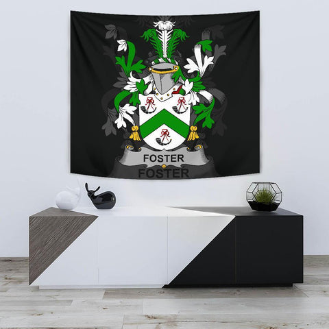 Irish Tapestry, Foster Family Crest Wall Carpet A7