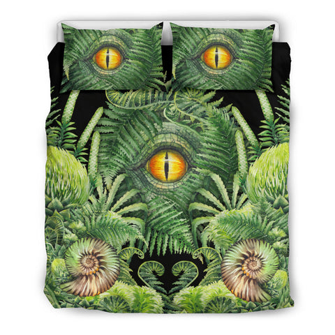 New Zealand Bedding Set Seashell and Fern Eyes K4