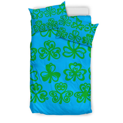 Image of Celtic Shamrock Bedding Set A4 1st