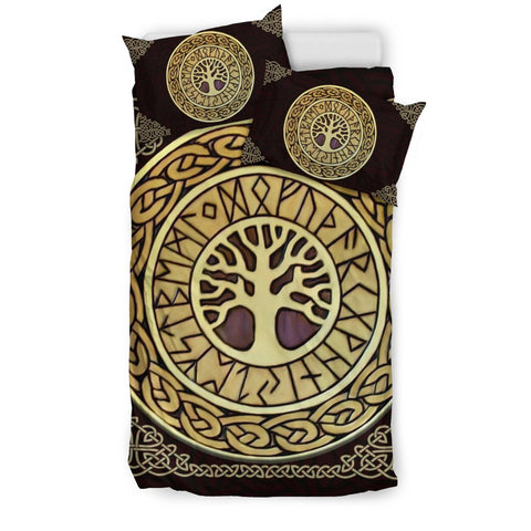 celtic, tree of life, bedding set, bed, carve tree celtic, ireland, celtic bedding set, celtic duvet cover, celtic symbols