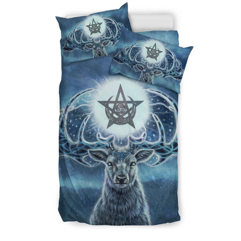 Celtic deer bedding set k7 1st