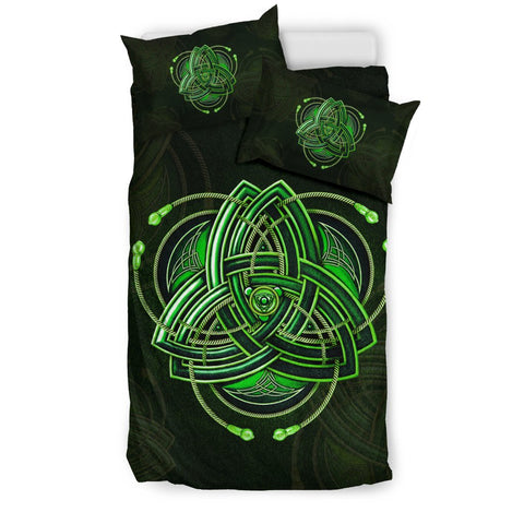 Celtic Bedding Set - Triquetra, The Celtic Trinity Knot Duvet Cover | Hot Sale