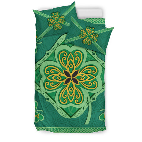 Irish Shamrock Bedding Set 3