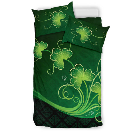 Image of Ireland Bedding Set Shamrocks Floral 2