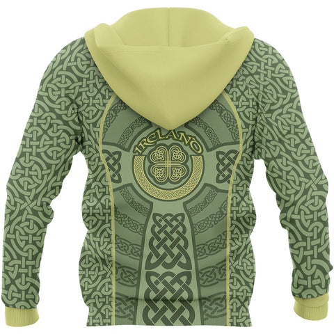 Irish Celtic Zip Hoodie - Back for Men and Women
