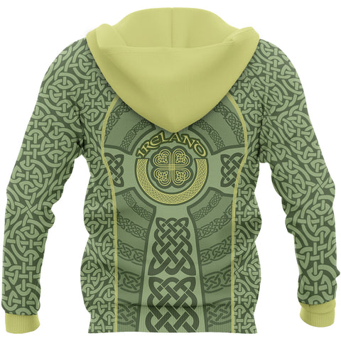 Image of Irish Celtic Hoodie - Back for Men and Women