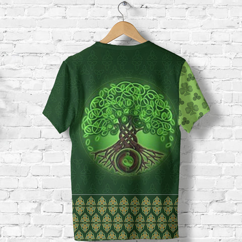 Image of Ireland T-Shirt Irish Celtic Tree Of Life Shirt Celtic Knot TH5