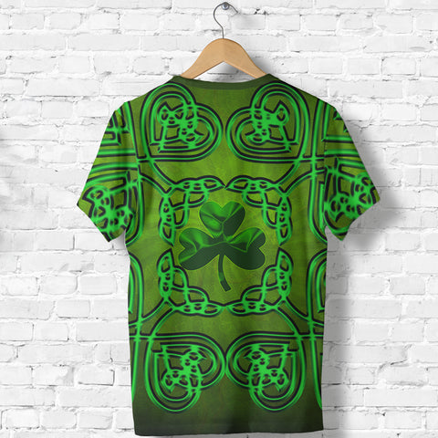 Image of Ireland Shamrock T-Shirt Ireland Celtic Shamrock St, Patrick's Day TH5