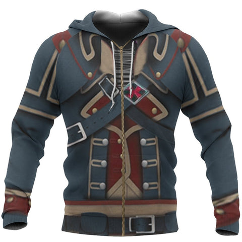 Image of Assassin's Creed Rogue Zipper Hoodie