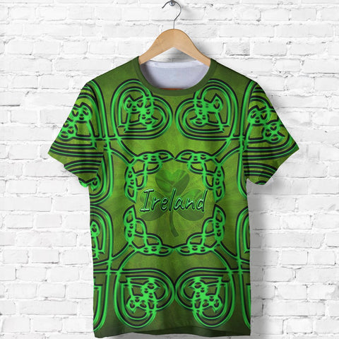 Ireland Shamrock T-Shirt Ireland Celtic Shamrock St, Patrick's Day