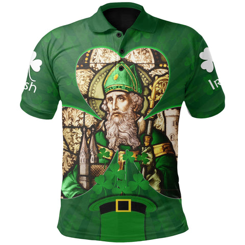 Ireland Polo Shirt, Irish St Patrick's Day Green
