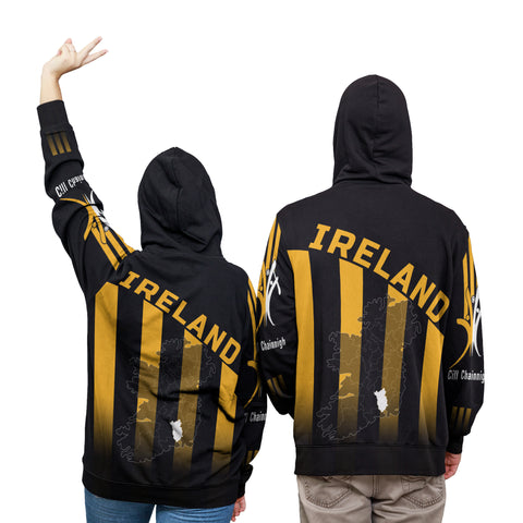 Ireland Champion  Hoodie Hurling Kilkenny - Map