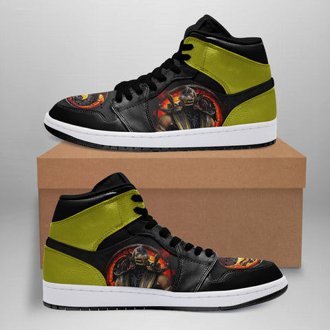 Mortal Kombat Shoes, Scorpion Sneakers™ TH79 (Limited Edition)