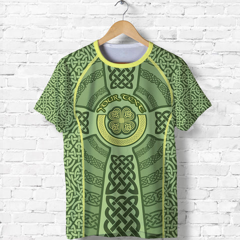 Ireland Celtic Cross T Shirt, Celtic Shamrock Shirt - Customized K5