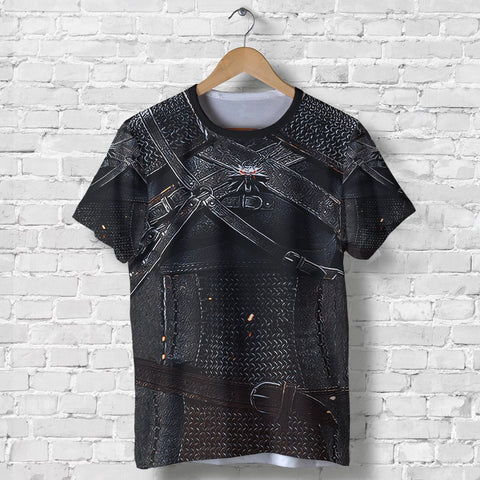 Image of 1stIreland Viking T-Shirt, 3D Witcher Armor TH00 - 1st Iceland