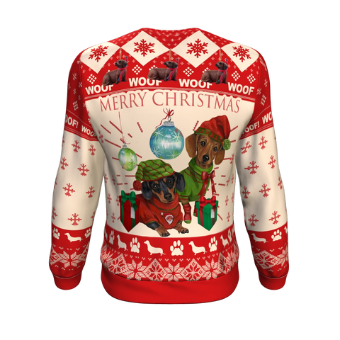 Image of Dachshund Christmas Sweatshirt K5
