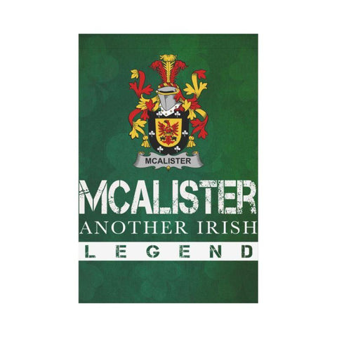 Ireland Garden Flag - Fighting Alister Or Mcalister A9