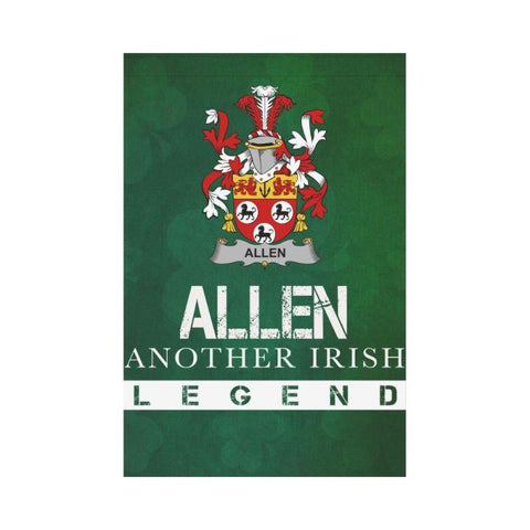 Ireland Garden Flag - Fighting Allen A9