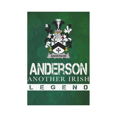 Ireland Garden Flag - Fighting Anderson A9