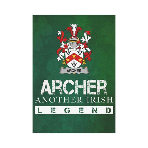 Ireland Garden Flag - Fighting Archer A9