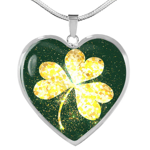 Image of Shining Golden Shamrock™ Women Necklace - Irish Jewelry