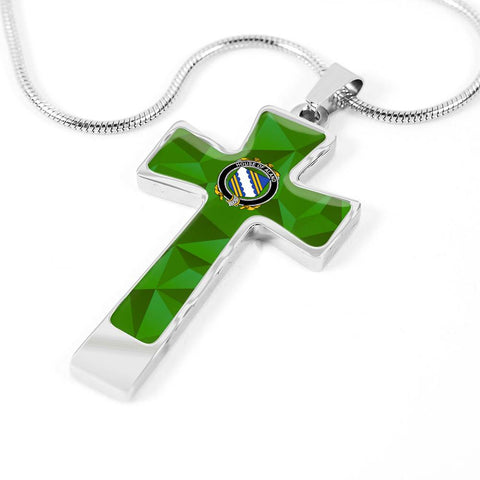 Irish Necklace, Aland Family Crest Cross Necklace