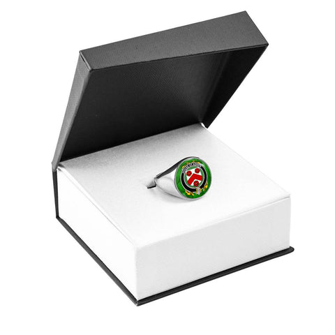 Irish Ring, Agnew Family Crest Signet Ring