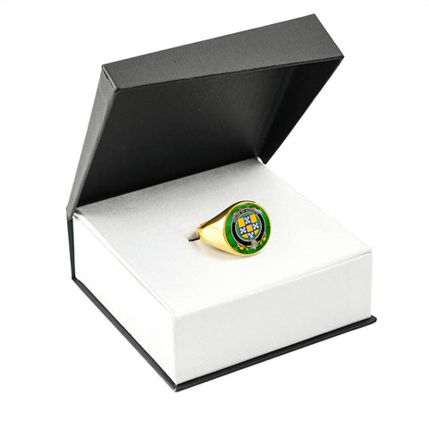 Irish Ring, Accotts Family Crest Signet Ring