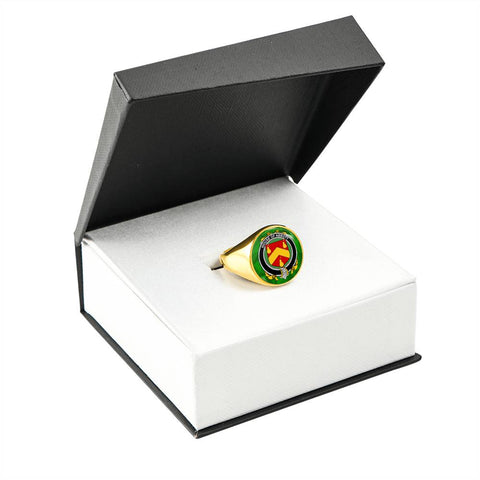 Irish Ring, Abbott Family Crest Signet Ring