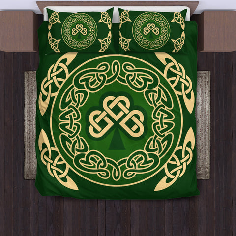 Celtic Shamrock Bedding Set