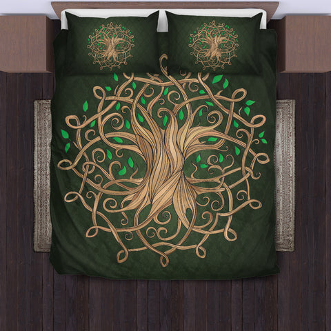 Luxurious Celtic Tree Bedding Set