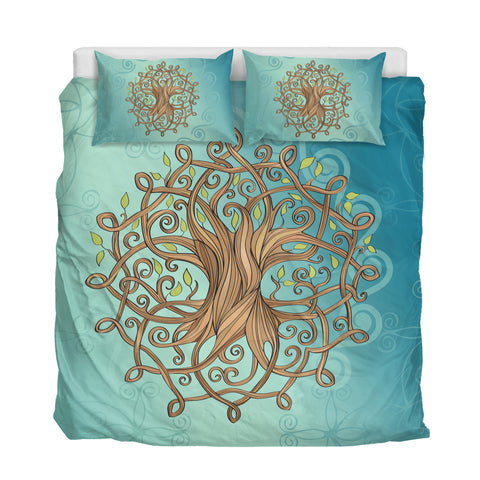 Irish Celtic Tree of Life Bedding Set K5