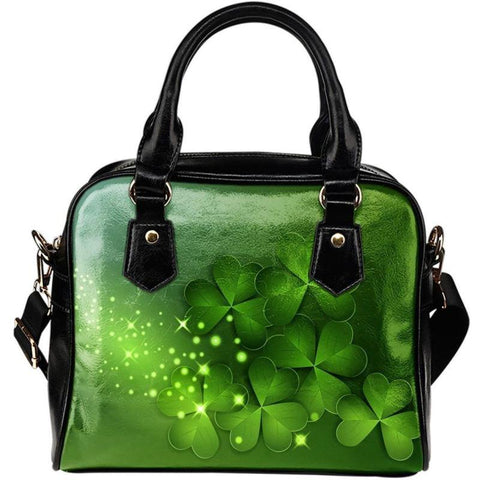 Clover Shoulder Handbags 001