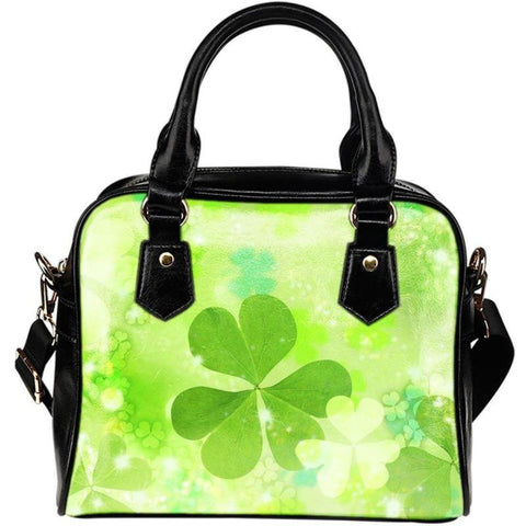 Clover Shoulder Handbags 004