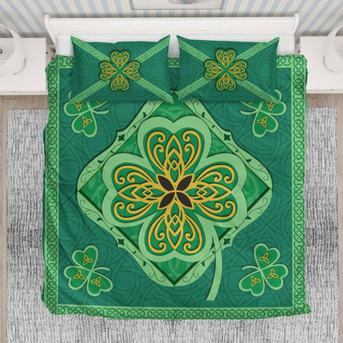 Irish Shamrock Bedding Set 4