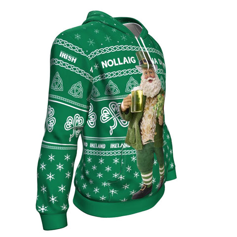 Irish Christmas Hoodie - White Version K5