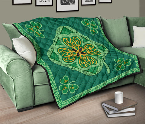 Irish Shamrock Quilt 2